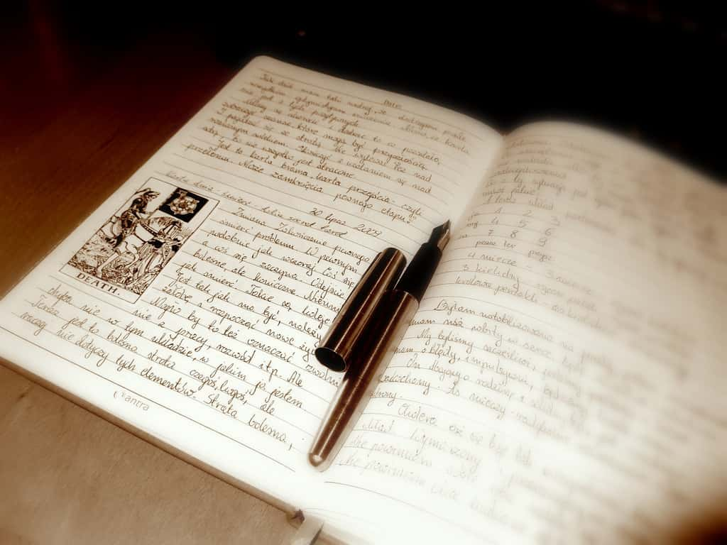 Writing In A Diary ~ An open letter to my parents