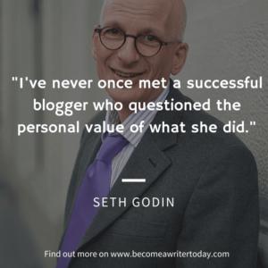 Seth Godin on blogging