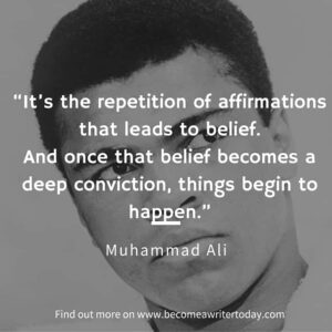 Muhammad Ali positive affirmations