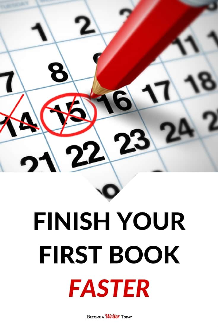 Finish Your First Book Faster