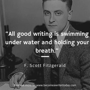 F. Scott Fitzgerald on writing