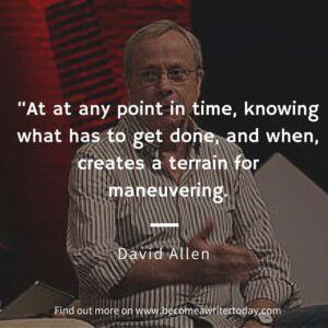 David Allen quote