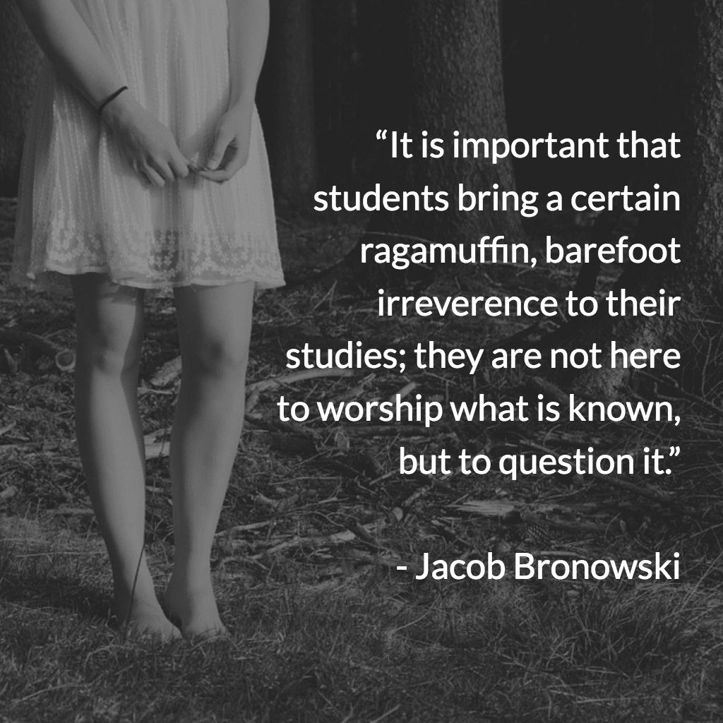 Jacob Bronowski − The Ascent of Man