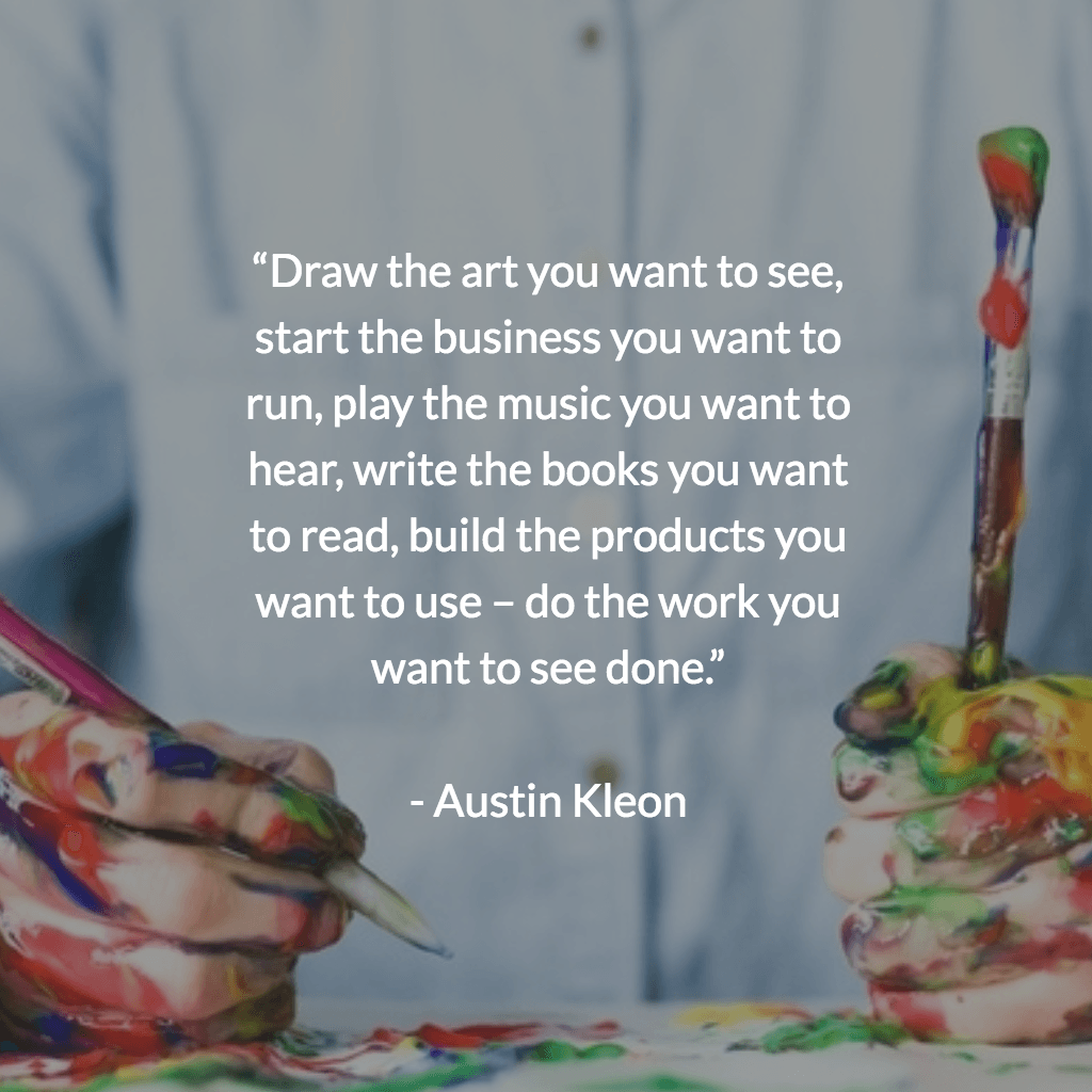 Austin Kleon − Steal Like an Artist: 10 Things Nobody Told You About Being Creative