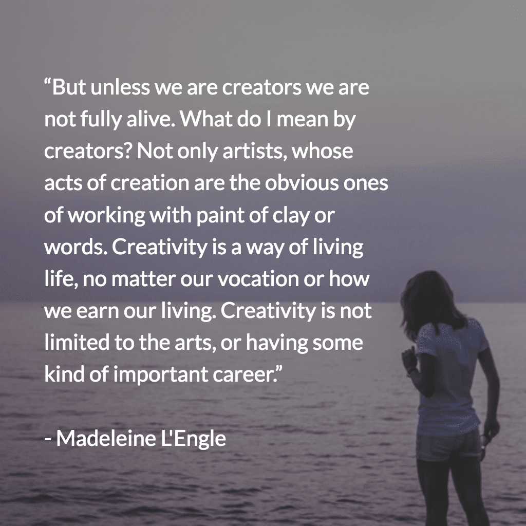Madeleine L'Engle − Walking on Water