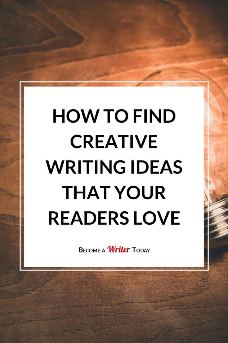 Creative ideas for writing articles